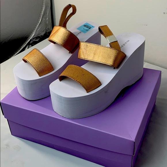 Madden Girl Keely Platform Sandals Rose